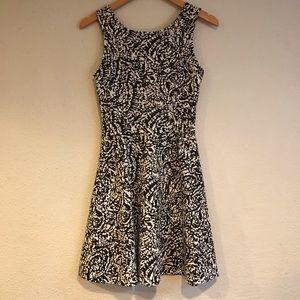 Black & White Party Dress